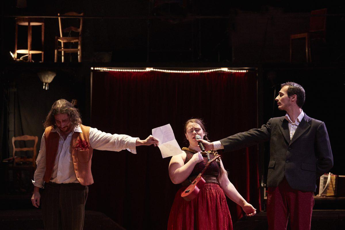L'Ombre du Zèbre au cirque Jules-Verne d'Amiens
